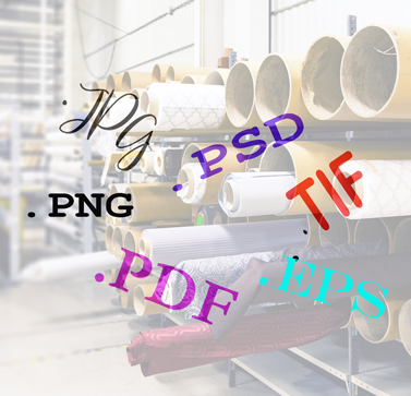 Best File Types For Digital Fabric Printing.