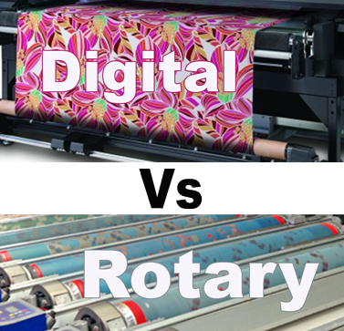Digital Fabric Printing Vs Rotary Screen Textile Printing.