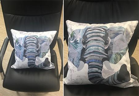 Super soft vegan suede faux suede cushions.